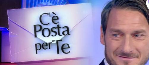 Anticipazioni C'è Posta per Te: Francesco Totti e Massimo Ranieri ospiti nella puntata del 22 febbraio.