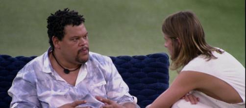 Daniel rebate Babu sobre refeições: 'Você controla demais'. (Reprodução/TV Globo)