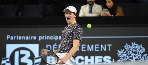 Jannik Sinner eliminato gli ottavi degli Open 13 di Marsiglia da Daniil Medvedev.