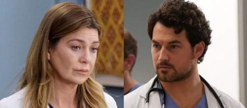 Nel quattordicesimo episodio di Grey's Anatomy 16, Meredith Grey si mostra preoccupata per il benessere psicologico di DeLuca.