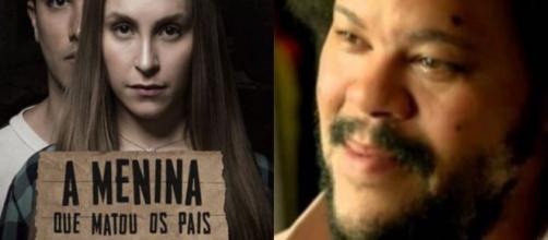 """Os filmes """"Tim Mais"""" e a """"A Menina que Matou os Pais"""" foram sucesso no Brasil. (Instagram/@babusantana/Instagram/@carladiaz)"""