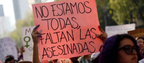 Una protesta en Ciudad de México el pasado 2 de febrero de 2019. / Reuters