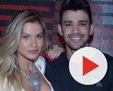 Gusttavo Lima agita fãs ao fazer proposta quente para Andressa Suita. (Arquivo Blasting News)