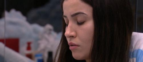 Bianca fala com brothers sobre monstro. (Reprodução/TV Globo)