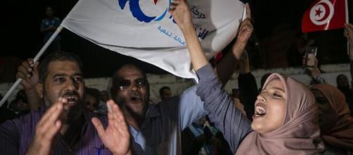 Exit polls show Islamist-inspired party leading Tunisia election ... - timesofisrael.com