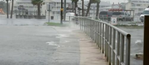 How does sea level rise increase flooding in Mississippi? [Image source/SeaLevlRise.org YouTube video]
