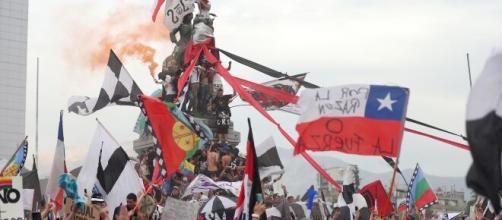 Las protestas se suceden en chile desde el pasado octubre