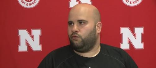 Nebraska assistant Matt Abdelmasssih wants patience from fans. [Image via KETV7/YouTube]