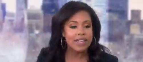 Sheinelle Jones will take some time away from 'Today' for vocal cord surgery. [Image source: 3rdHourTODAY-Twitter]
