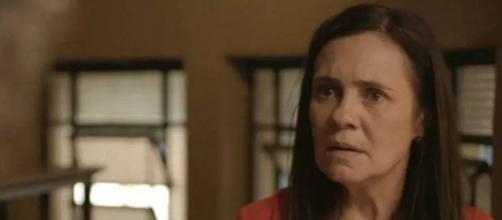 Thelma despontará como a grande vilã de 'Amor de Mãe' após segredo revelado. (Reprodução/TV Globo)
