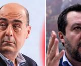 Coronavirus: Matteo Salvini attacca Nicola Zingaretti