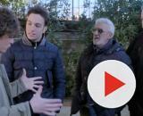 Un posto al sole, Vittorio, Patrizio, Raffaele e Guido discutono della cantina.