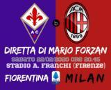 Serie A Giornata 25: Fiorentina - Milan in diretta su blastingnews