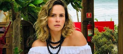 Ana Paula Renault comenta sobre o que acha de Tiago Leifert e Manu Gavassi. (Arquivo Blasting News)