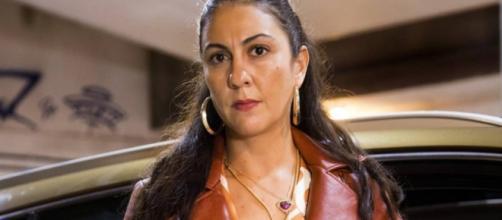 """Clarissa Pinheiro atua como Penha em """"Amor de Mãe'. (Reprodução/Globo)."""