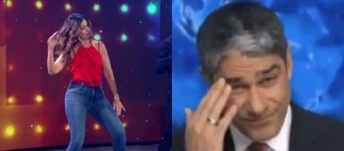 Fátima Bernardes dançou 'Tudo Ok' em seu programa e fãs citam Bonner. (Arquivo Blasting News)