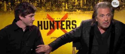 """Hunters"" stars Al Pacino and Logan Lerman (Source: Blasting News archive)"