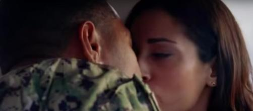On 'Hawaii Five-O,' Junior and Tani celebrate more than a safe homecoming. [Image Source: SpoilerTV/YouTube]