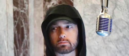 Eminem, rapper americano classe 1972.