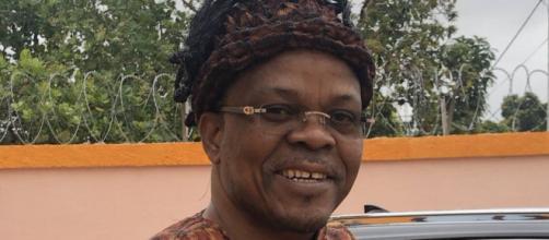 Monsieur Alain Lobognon, ancien Ministre de la Jeunesse et des Sports de Côte d'Ivoire. Credit: Twitter/Alainlobog