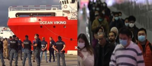 Ocean Viking verso lo sbarco a Pozzalo, misure d'emergenza per via del coronavirus.
