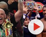 I due campioni del mondo dei pesi massimi: Tyson Fury e Anthony Joshua