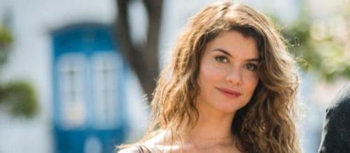 A atriz Alinne Moraes declarou em uma entrevista que é ateísta. (Divulgação/TV Globo)