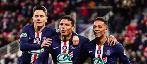 PSG : L'équipe parisienne devra trouver une solution pour jouer sans Thiago Silva. Credit : Instagram/PSG