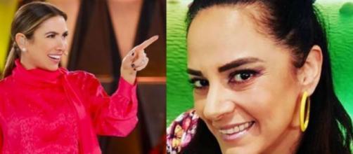 Silvia e Patrícia Abravanel, ambas são filhas do apresentador Silvio Santos. (Reprodução/Instagram/@patriciaabravanel/@silviaabravanel).