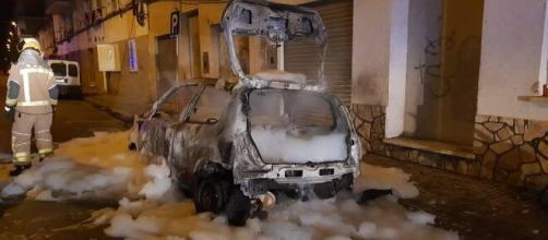 Un concejal de VOX en la localidad de Salt denuncia la quema de su coche