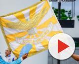 Águia de Ouro é a campeã do carnaval de SP pela 1ª vez. (Reprodução/TV Globo)