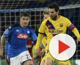 Barcelona e Napoli empatam pelas oitavas de final da Liga dos Campeões. (Arquivo Blasting News)