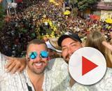 Tiago Abravanel e Fernando Poli estão juntos há cinco anos. (Reprodução/Instagram/@tiagoabravanel)