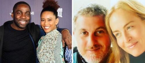 Além de Taís Araújo e Lázaro Ramos, outras celebridades possuem casamentos duradouros. (Fotomontagem)