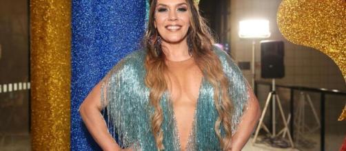 Cantora disse que teria dado uma 'porrada' em Dudu Camargo se não estivesse ao vivo. (Arquivo Blasting News).