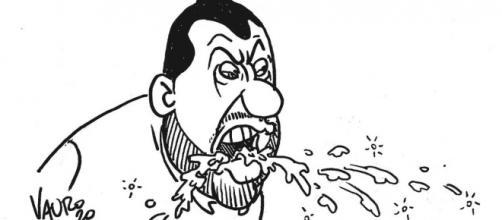 La vignetta di Vauro su Salvini e coronavirus fa esplodere i social