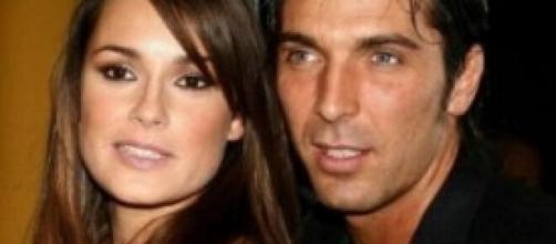 Nella foto la Seredova con il suo ex marito Buffon.