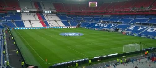 Nella foto lo stadio del Lione.