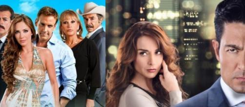 Novelas que devem passar bem longe da programação do SBT. (Fotomontagem/Divulgação/Televisa)