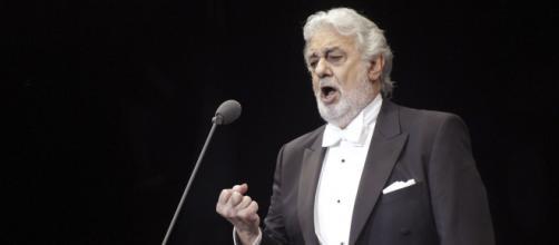 Plácido Domingo durante una actuación. Nbcnews