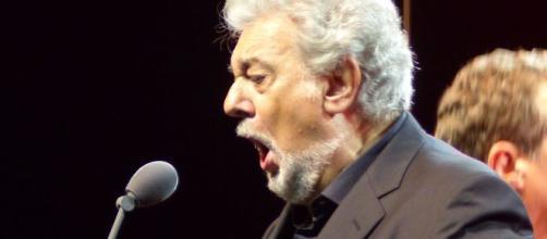 Plácido Domingo durante una de sus actuaciones.