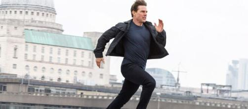 "The coronavirus has caused production be halted on the upcoming ""Mission Impossible"" film. [Image Credit] Paramount/YouTube"
