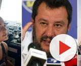 Matteo Salvini contrario allo sbarco di migranti dalla Sea Watch