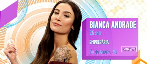 Bianca Andrade é entrevistada após ser eliminada do 'Big Brother Brasil 20'. (Reprodução/TV Globo)