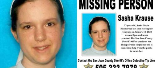 Body found in Arizona identified as missing Mennonite woman. [Photo courtesy of San Juan County Sheriff's Office]