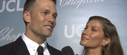 The couple is known for posting sweet messages on social media. [Image Source: Access/YouTube]