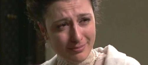 Una Vita, spoiler 27 febbraio: l'Alday spinge e fa cadere Lucia, Telmo assiste alla scena