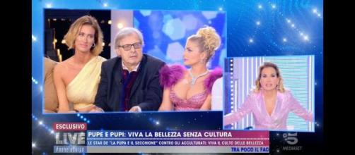 Vittorio Sgarbi cacciato da Mediaset