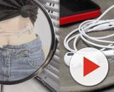 Nuevo reto viral: rodea tu cintura con un cable de auriculares