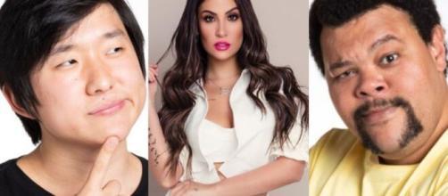 Após sair da casa, Bianca Andrade detonou a atitude de Pyong e Babu com ela dentro do reality. (Reprodução/Globo/Instagram/Globo).